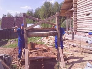 Технология строительства колодцев