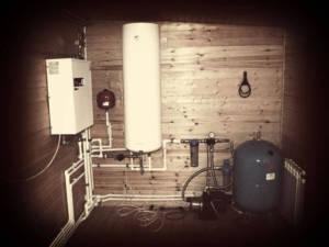 монтаж водопровода на коттедже