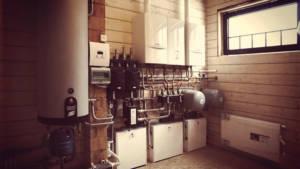 автономное отопление в коттедже
