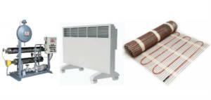 отопление частного дома-электричеством