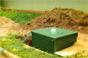 ЮБАС автономная канализация Евробион